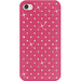 Diamond Lattice Snap On Shell Case Hot Pink For IPhone4 / Mfr. no.: AMZ93929