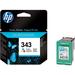 HP 343 Ink Cartridge  Cyan Magenta Yellow