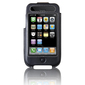 Belkin Formed F8Z338EA Carrying Case for iPhone - Black - Leather