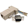 Cables Unlimited ADP-6150 DB-9 to RJ-45 Modular Adapter
