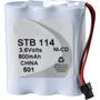 NABC UL-114 UltraLast Nickel Cadmium Cordless Phone Battery