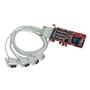 Comtrol RocketPort EXPRESS Quadcable DB9 Multiport Serial Adapter