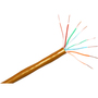 ClearLinks 1000FT Cat. 6 550MHZ Solid Orange Bulk Cable