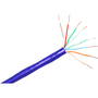 ClearLinks 1000FT Cat. 6 550MHZ Stranded Blue Bulk Cable
