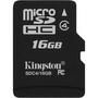 Kingston SDC4/16GBSP 16 GB MicroSD High Capacity (microSDHC) - 1 Card/1 Pack