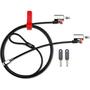 Kensington ClickSafe K64640 Twin Laptop Cable Lock - Master