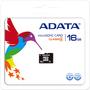 Adata AUSDH16GCL4-RA1 16 GB MicroSD High Capacity (microSDHC) - 1 Card - Retail