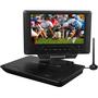 "Envizen Digital Quartet 9 ED8890A Portable DVD Player - 9"" Display"