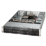 Supermicro SuperServer 6027R-WRF Barebone System - 2U Rack-mountable - Intel C602 Chipset - Socket LGA-2011 - 2 x Total Processor - Xeon Support - Black