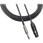 "Audio-Technica ATR-MCU Microphone Cables (XLRF - 1/4"")"
