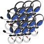 Califone 12-Pack Listening First Stereo Headsets