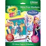 Crayola Color Wonder Glitter Paper and Markers, Disney Frozen