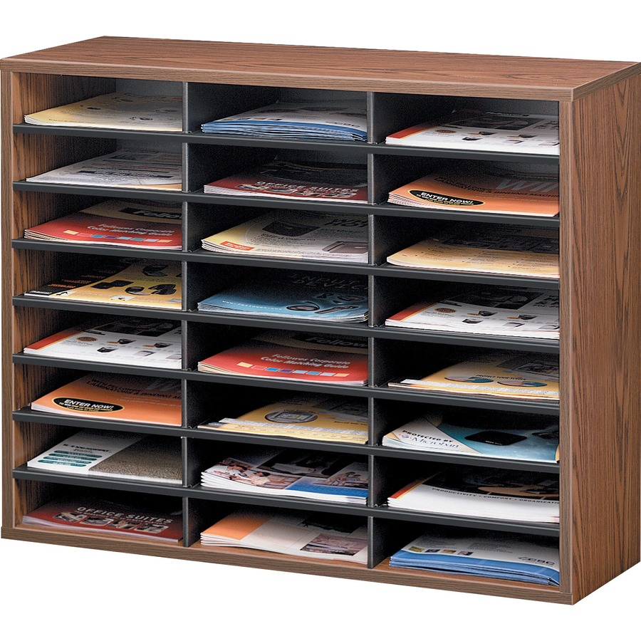 Fellowes literature organizer 24 compartment letter for Construction organizer notebook
