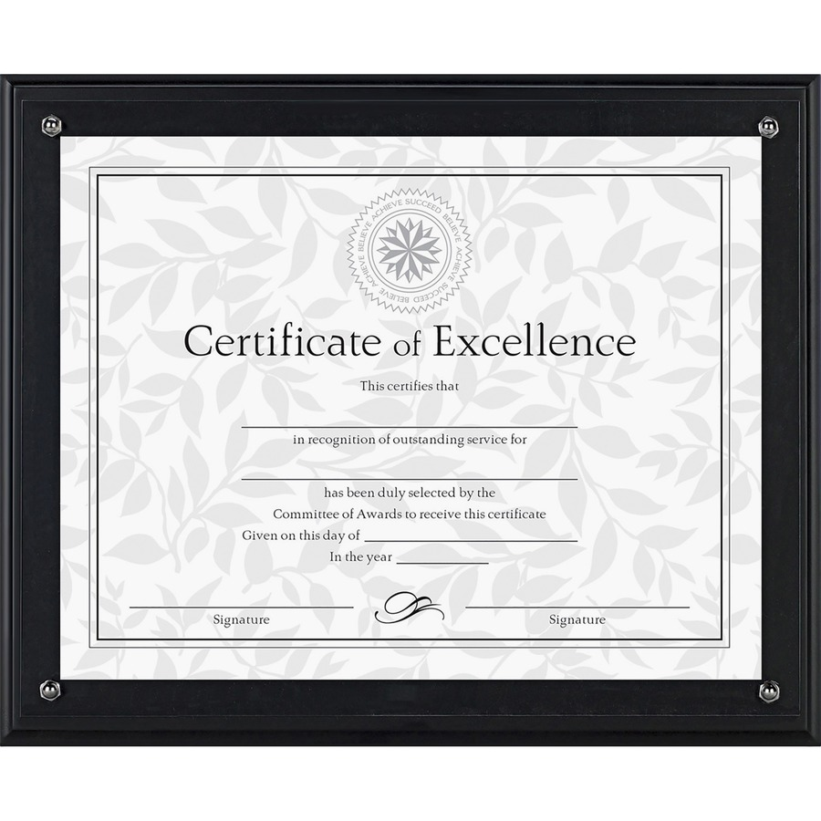 Dax Solid Wood Award Plaques Urban Office Products