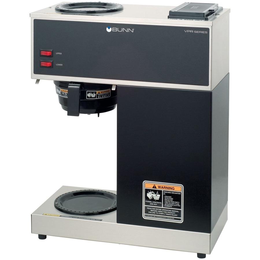 Bunn Coffee Maker Vpr : Bunn-O-Matic VPR, BUNN Pour-O-Matic VPR Coffee Brewer, BUNVPR, BUN VPR - Great Office Buys
