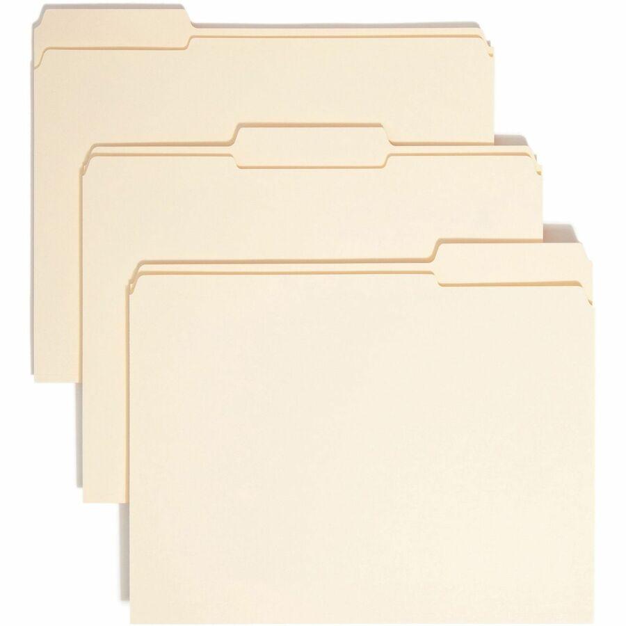 Wholesale pricing on smead manila folders w tab for Manila file folders letter 3 tab