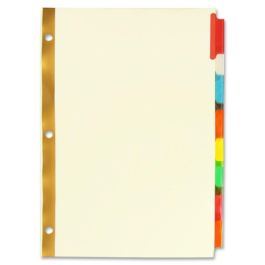 sparco insertable tab divider spr01813. Black Bedroom Furniture Sets. Home Design Ideas