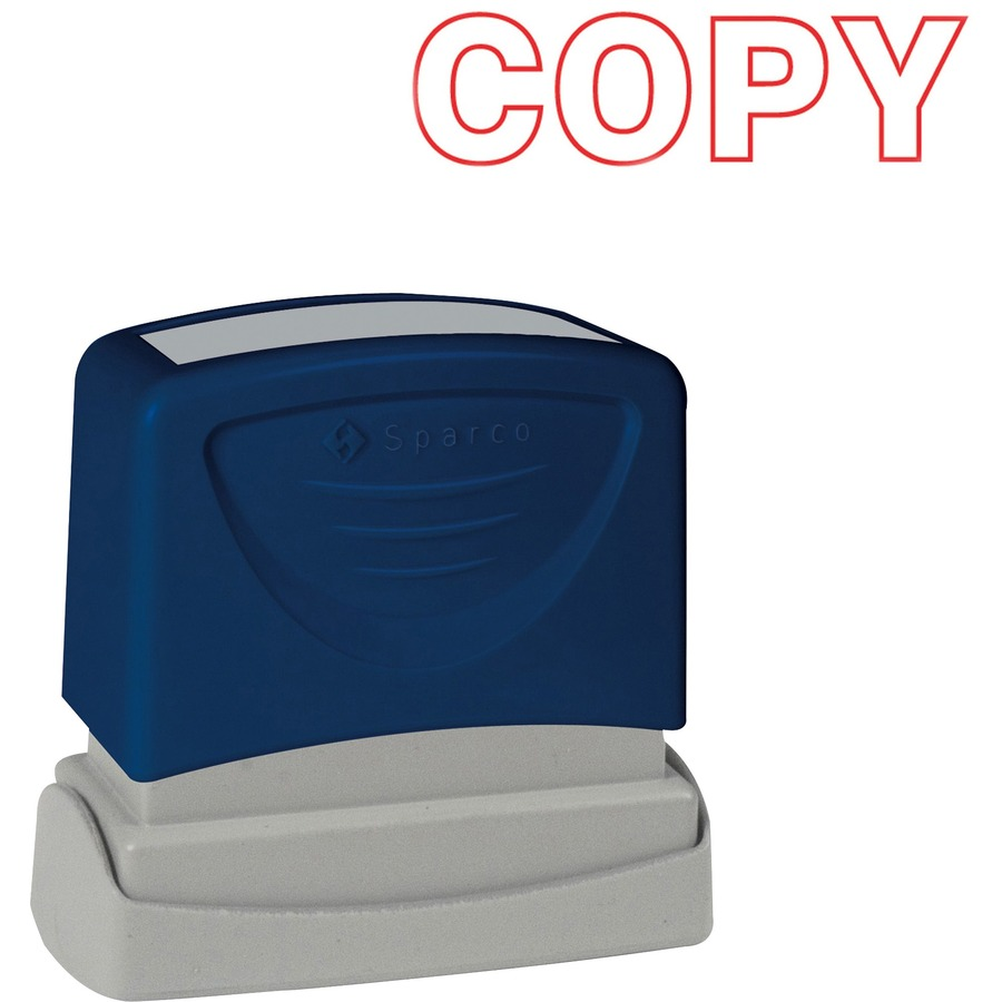 Sparco 60014 sparco pre inked stamp spr60014 spr 60014 for Uncontrolled document stamp