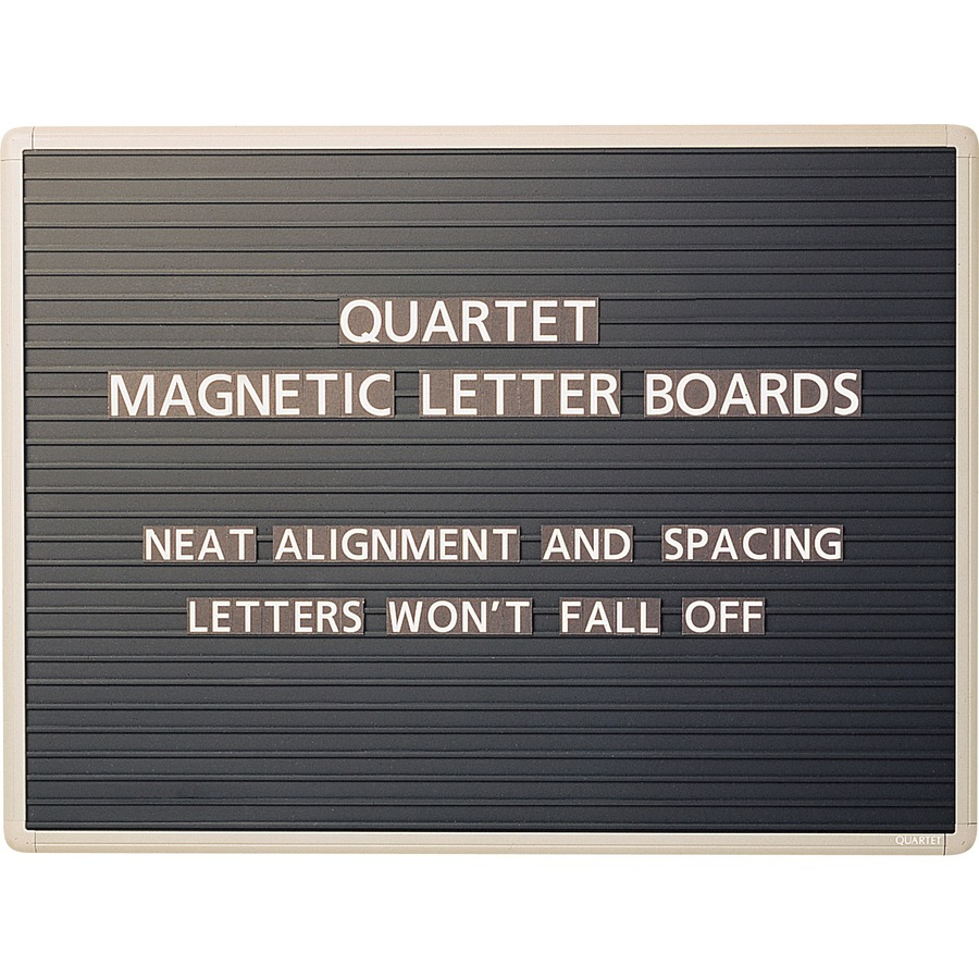 quartet magnetic letter board sign qrt901m. Black Bedroom Furniture Sets. Home Design Ideas