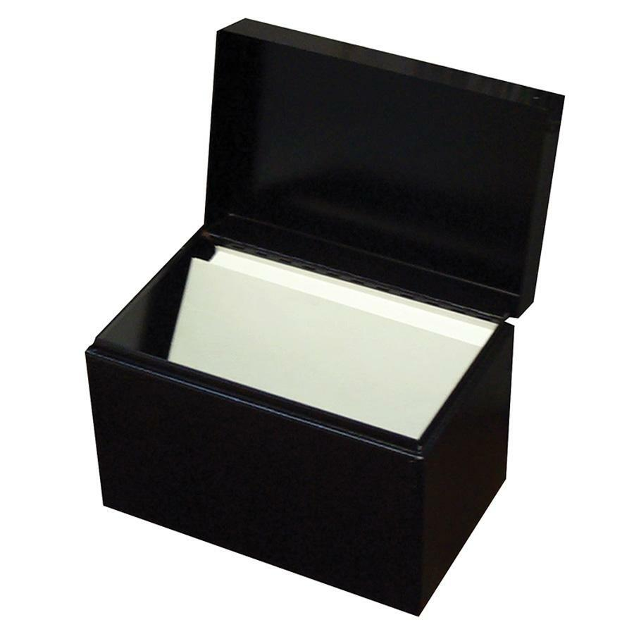 Buddy 4464, Buddy Hinged Cover Card File Box, BDY4464, BDY 4464 - Great Office Buys