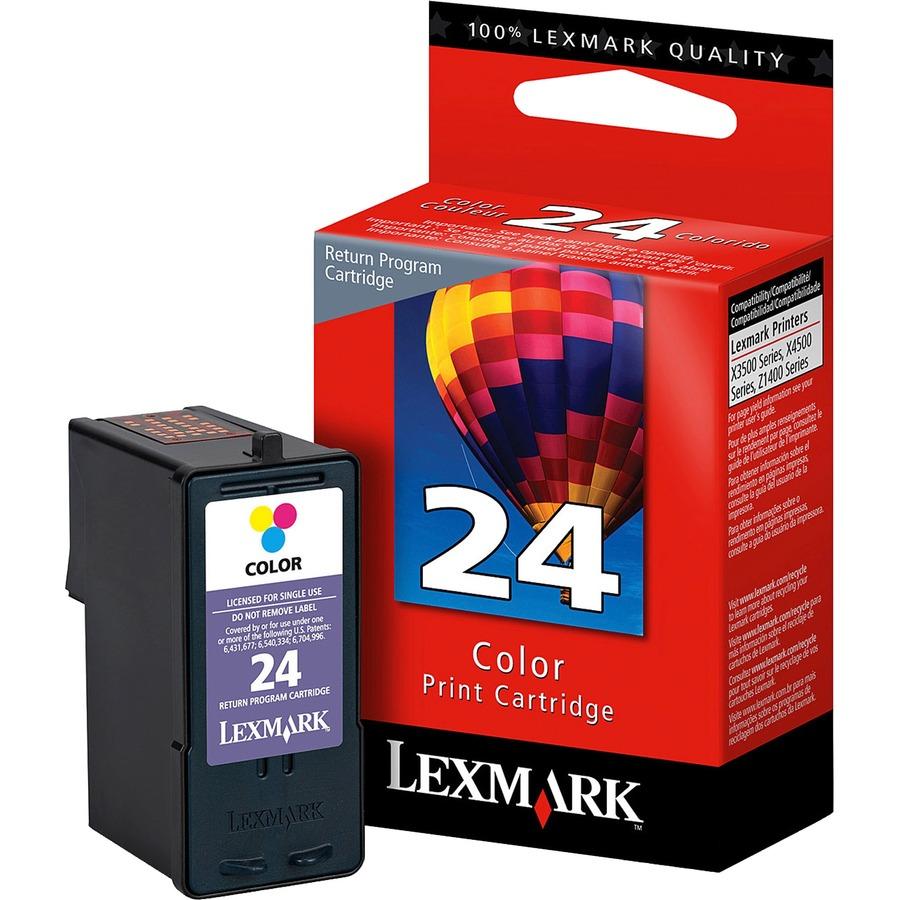 Lexmark No. 24 Return Program Color Ink Cartridge ...