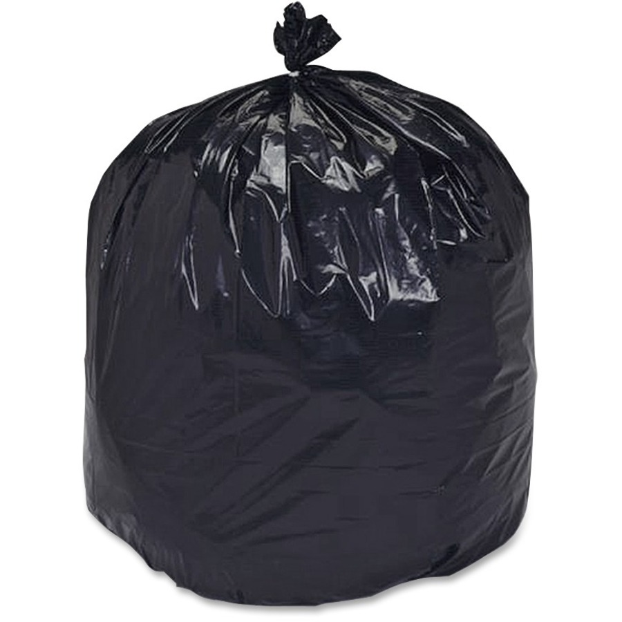 Skilcraft heavy duty recycled trash bag 60 gal38 quot x 60 quot polyethylene