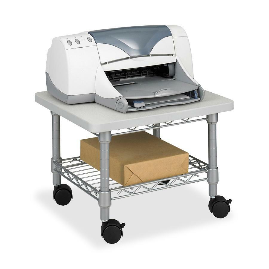 safco under desk printer fax stand. Black Bedroom Furniture Sets. Home Design Ideas