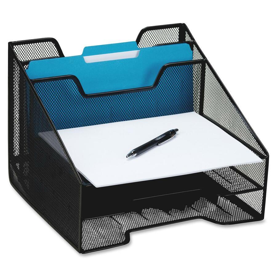 Rolodex mesh combo tray rol1742322 - Desk organizer sorter ...