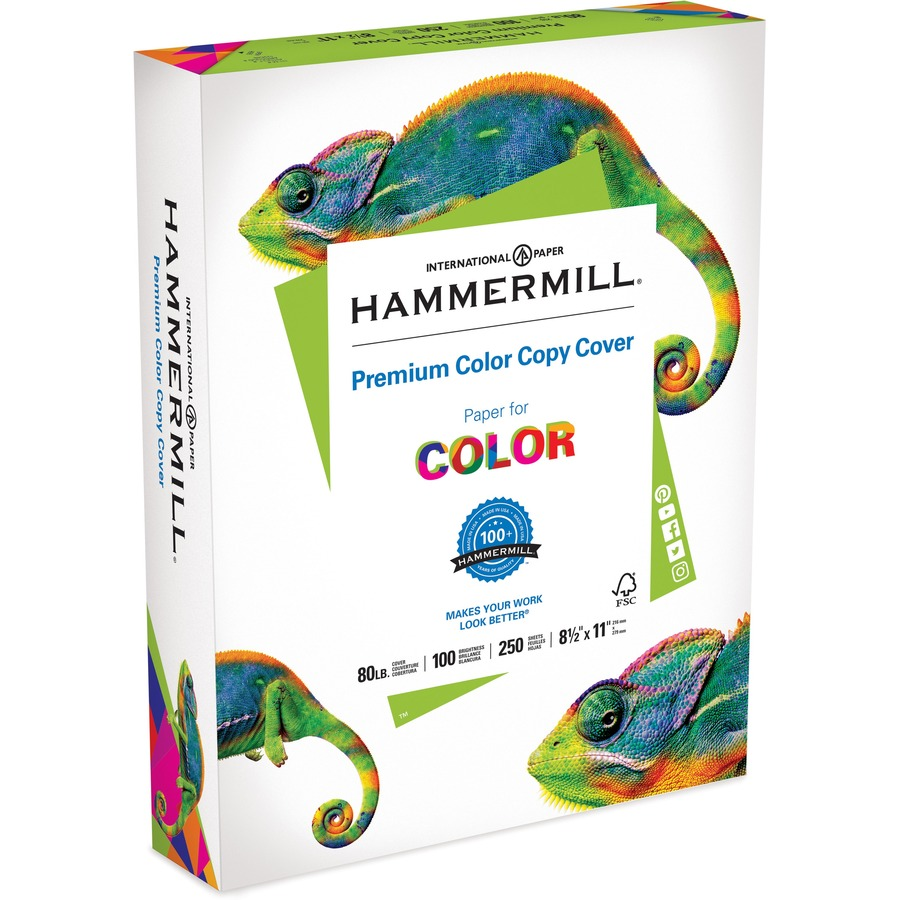 hammermill color copy paper Buy hammermill paper, color copy digital, 28lb, 85 x 11, letter, 100 bright, 500 sheets / 1 ream (102467r), made in the usa: everything else - amazoncom free.