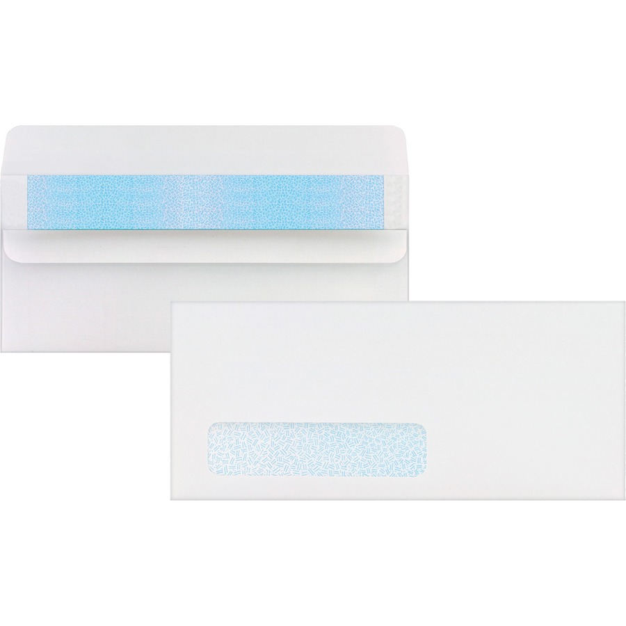 Sparco single window invoice envelopes for Window envelopes