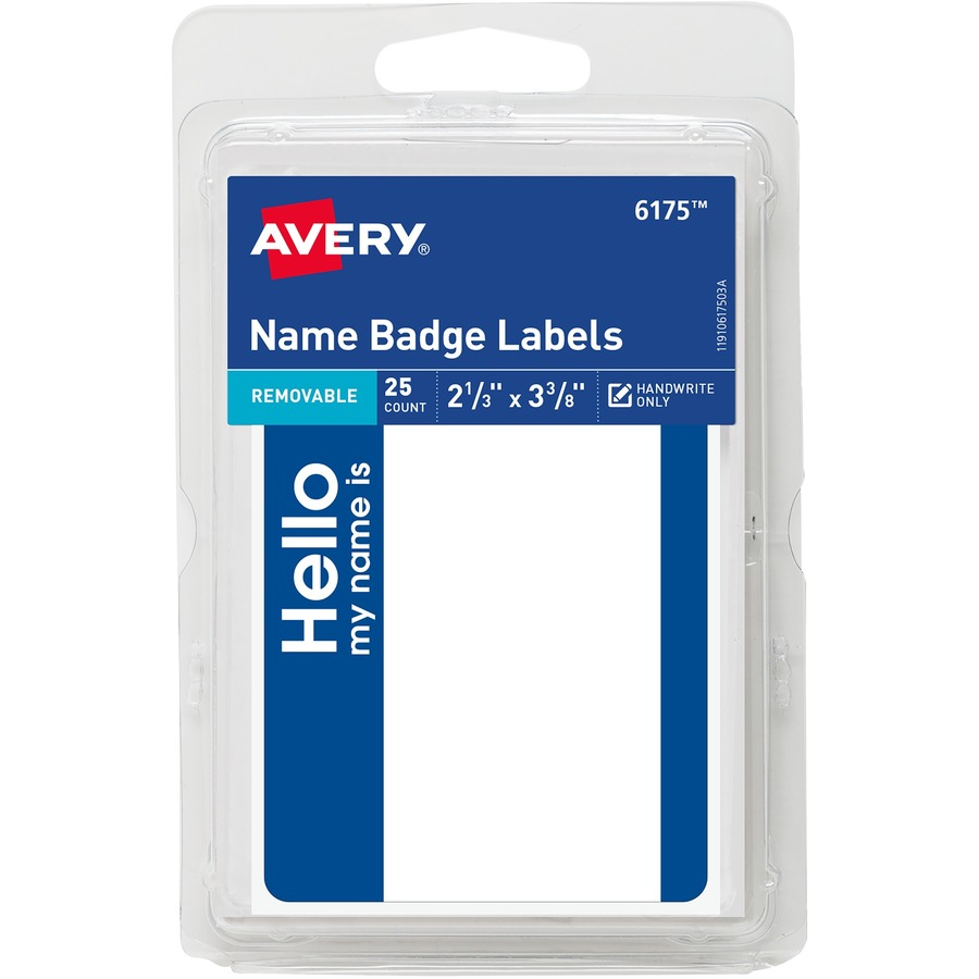 Custom Card Template print avery labels : Avery Printable Name Badges