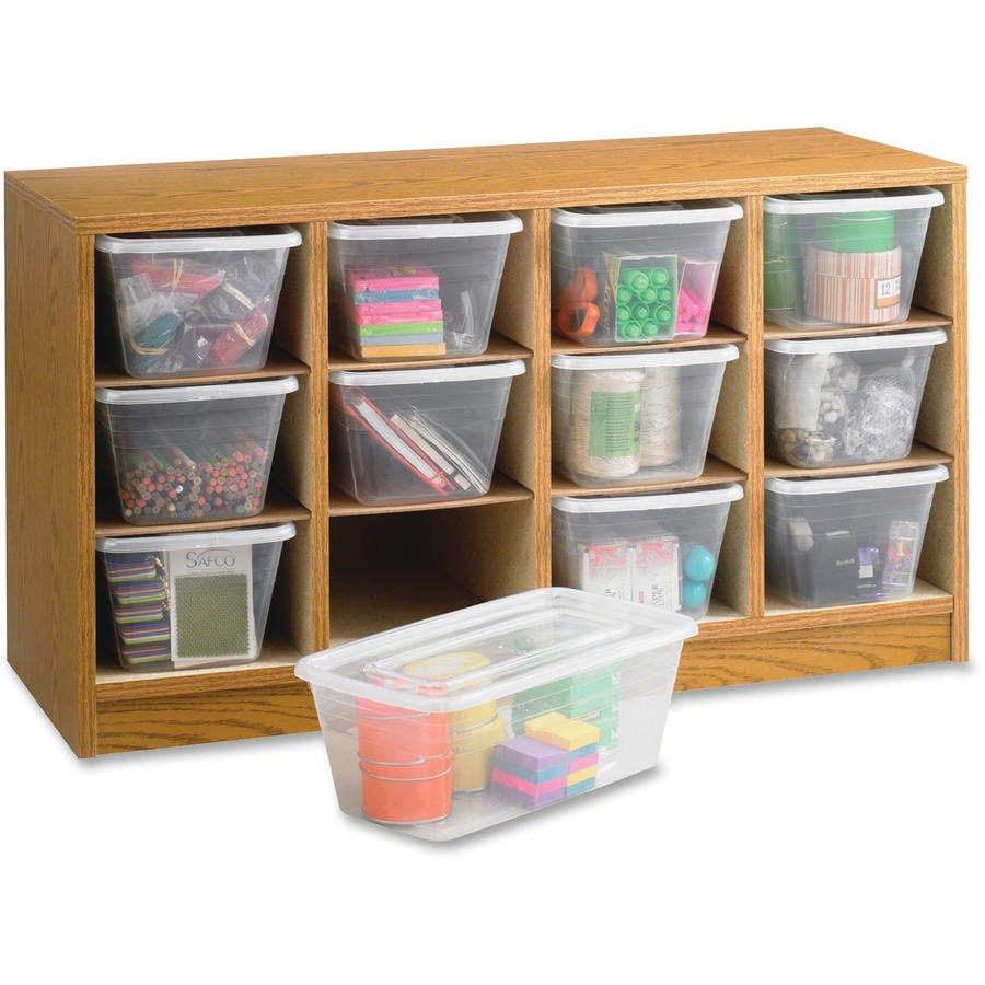 safco 12 compartment supplies laminate organizer office supply hut
