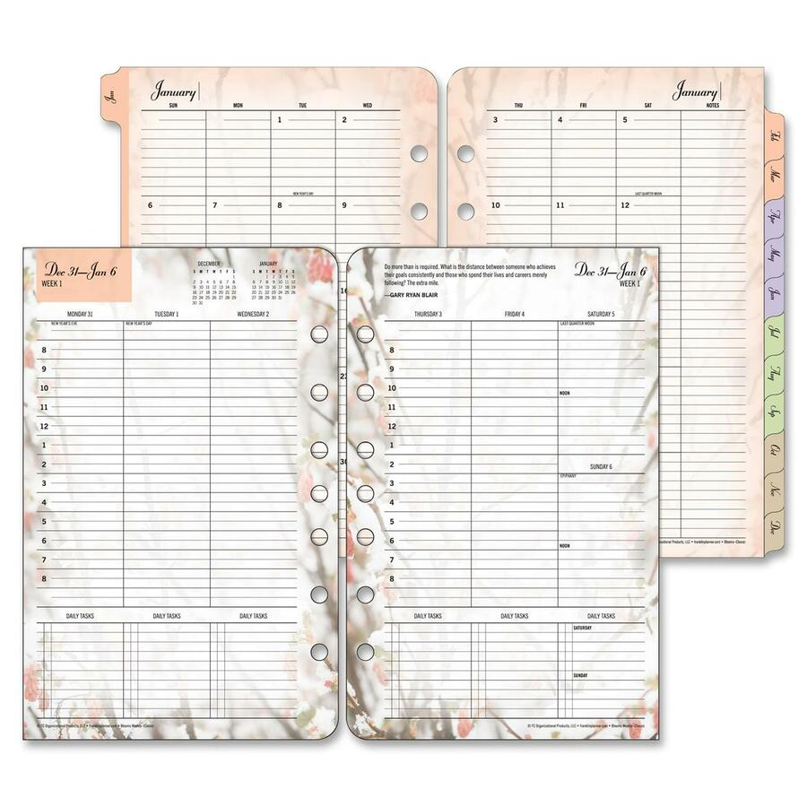daily weekly monthly planner