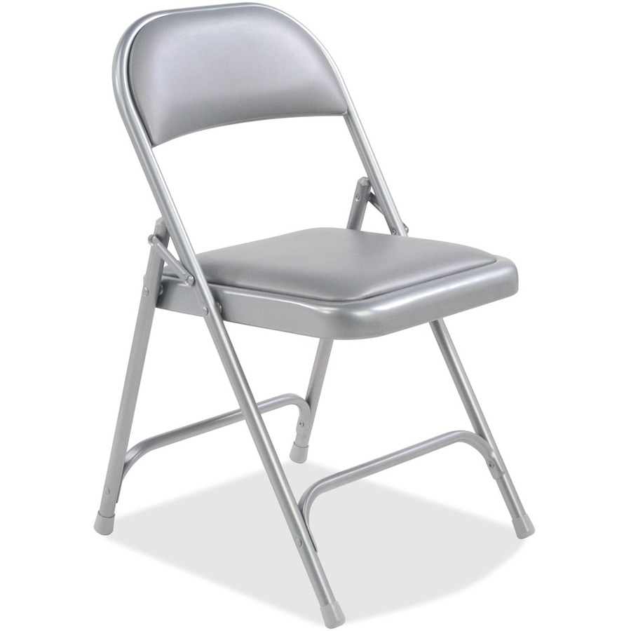 Upholstered virco folding chairs in padded seat - Virco 168 Folding Chair