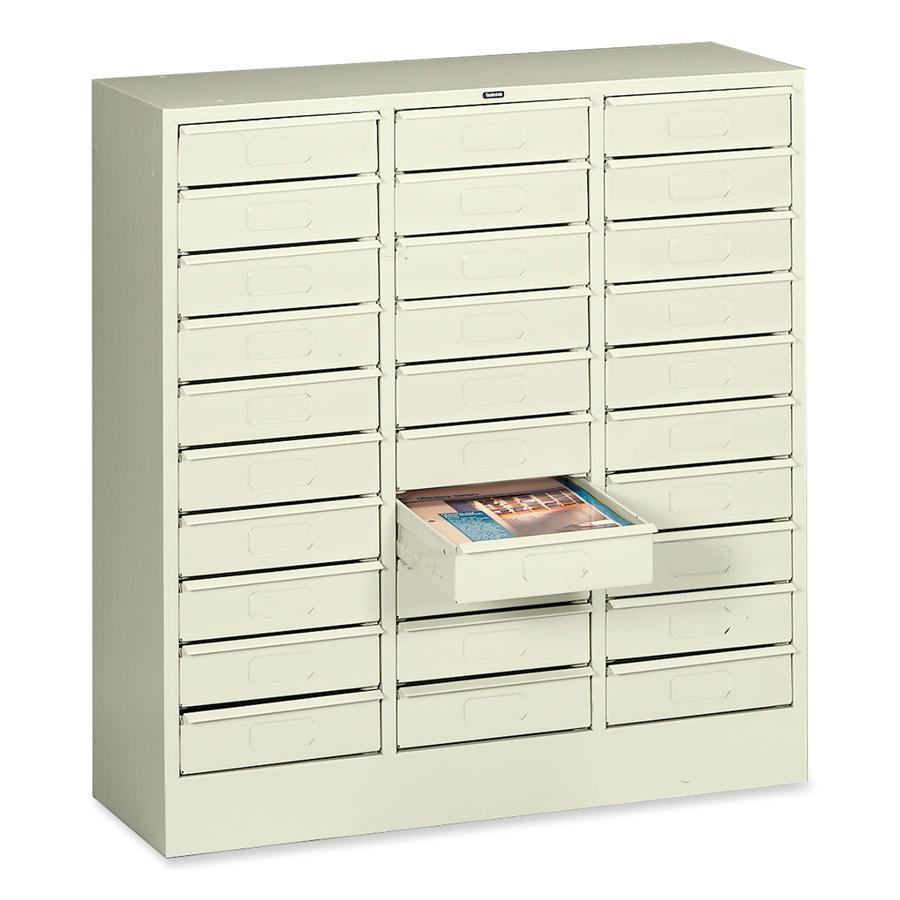 tnn2085py tennsco 2085 letter size drawer organizer