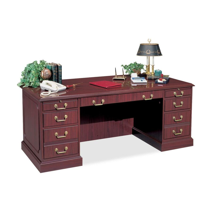 hpfi bedford trm3030 pedestal desk 72 0 width x 36 0