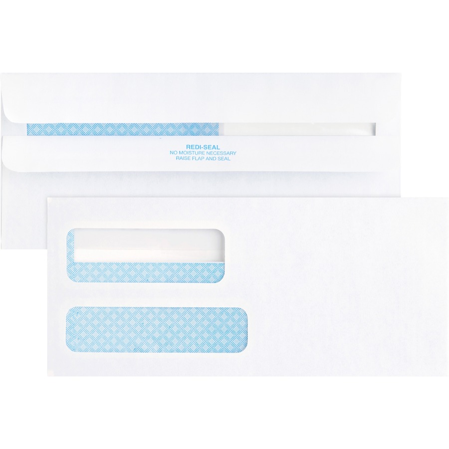Business source double window envelope for Window envelopes