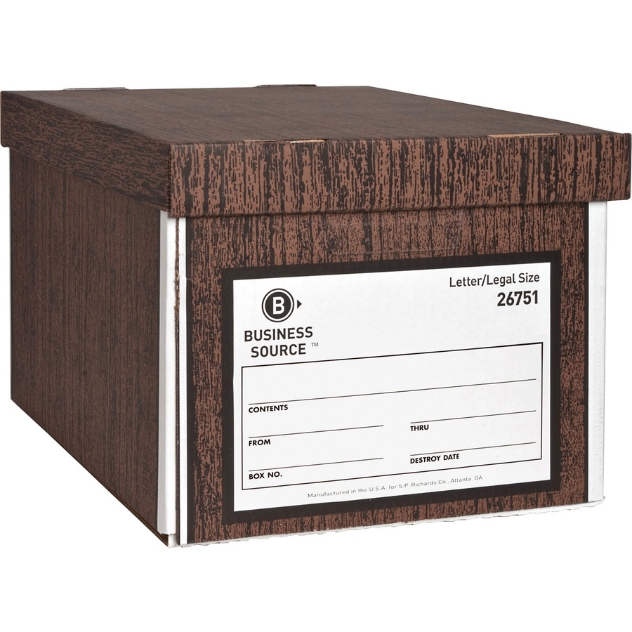 Business Source Economy Medium Duty Storage Bo Bsn26751