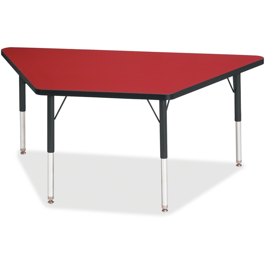 Berries elementary height classic trapezoid table for Trapezoid table