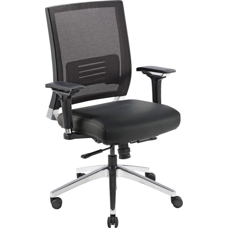 Lorell 90041 Lorell Lower Back Swivel Executive Chair LLR90041 LLR 90041