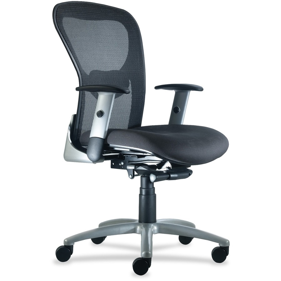 9 to 5 Seating Strata 1560 Mid Back Management Chair 26  x 22  x 45  - Polyester Coal Seat  sc 1 st  Urban Office Products & 9 to 5 Seating Strata 1560 Mid Back Management Chair - Urban Office ...