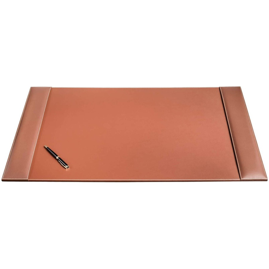 Dacp3201 Dacasso 34 X 20 Desk Pad Rustic Brown Leather