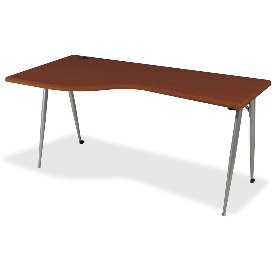 Blt90001 balt iflex large desk left cherry office for Table with that left
