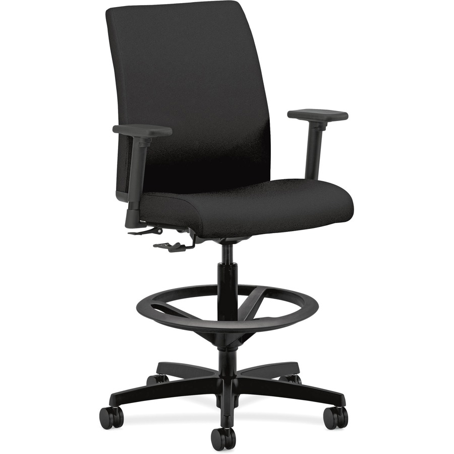 HON Ignition HITS5 Task Chair Fabric Black Seat Black Frame 5 Star