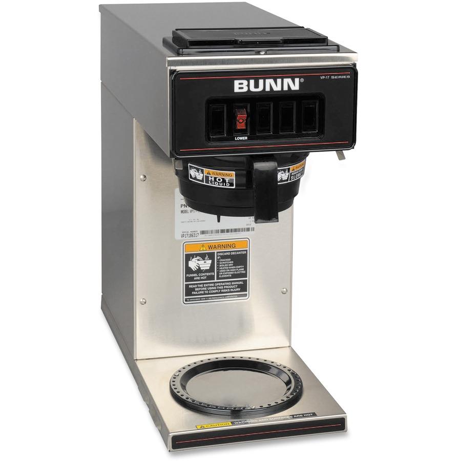 Bunn Coffee Maker Not Getting Power : BUN133000001 - BUNN VP17-1 Coffee Brewer - Great Office Buys