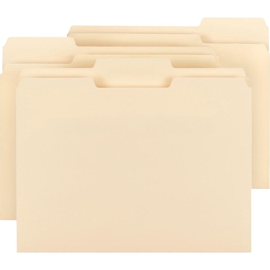 Business source top tab file folder bsn78950 for Manila file folders letter 3 tab