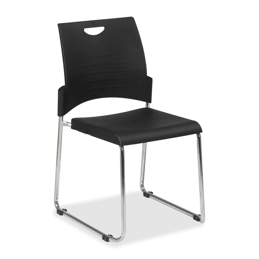 Acrylic office chair - Office Star Worksmart Stc8302 Stacking Chair