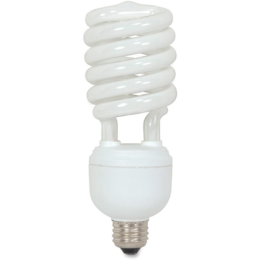 satco 40 watt t4 spiral cfl bulb. Black Bedroom Furniture Sets. Home Design Ideas