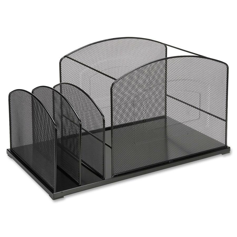 Llr95254 lorell steel mesh hanging file desktop - Hanging desk organizer ...