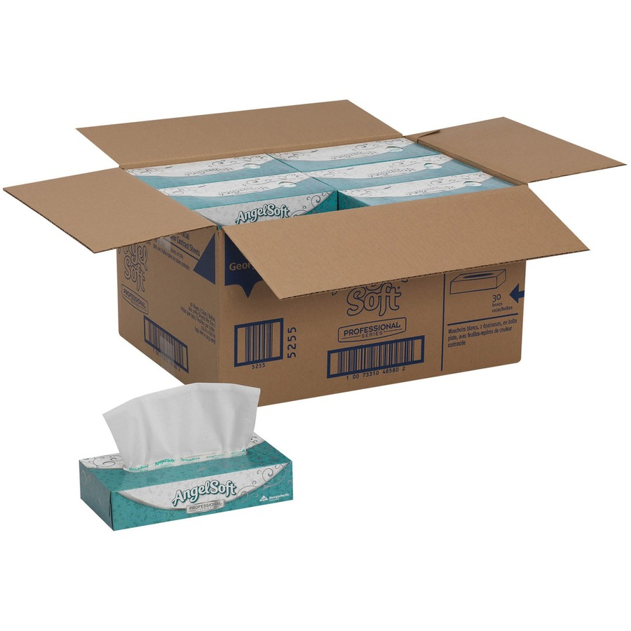 Angel Soft Ps Facial Tissue Gpc48580ct Supplygeeks Com